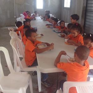 Nutrition Project: Children Eating