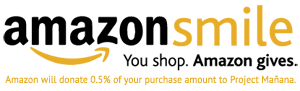 Shop AmazonSmile - Support Project Mañana!