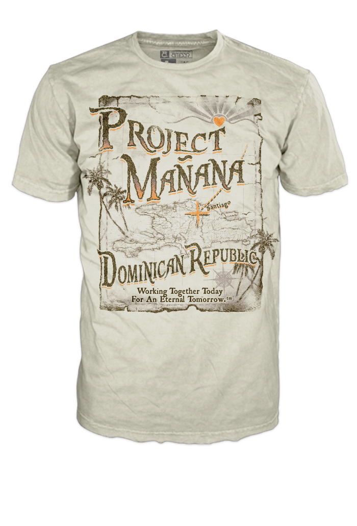 Dominian Map - Tshirt